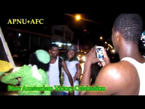 Apnu+Afc Victory Celebration - New Amsterdam (Guyana)