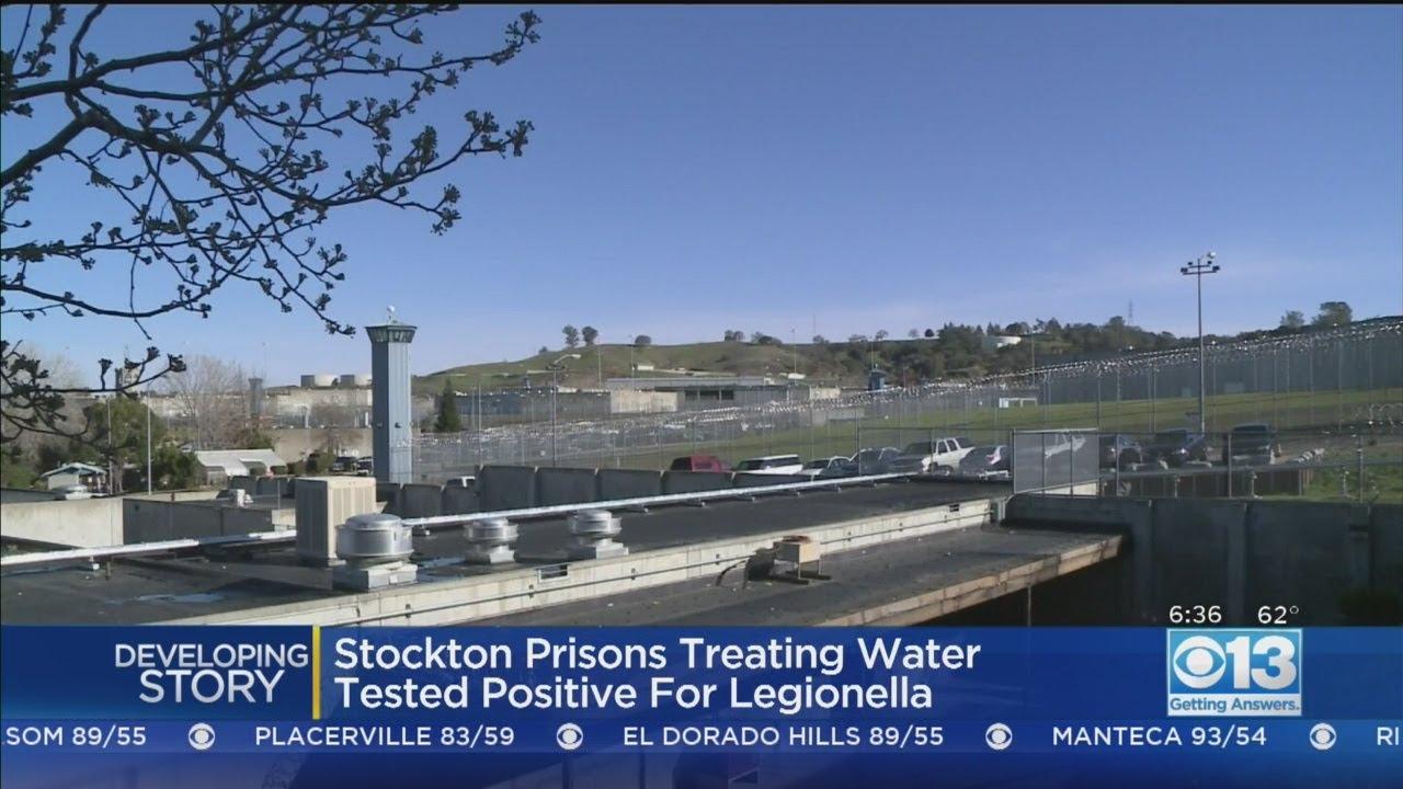 Water Treatment Starting At Stockton Prison