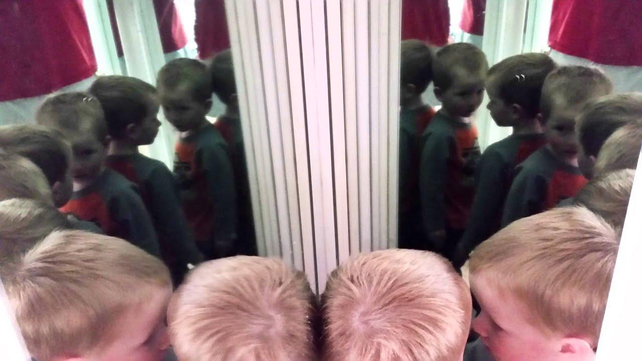 optical illusion children many