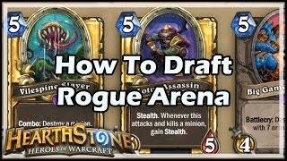 [Hearthstone] How To Draft Rogue Arena