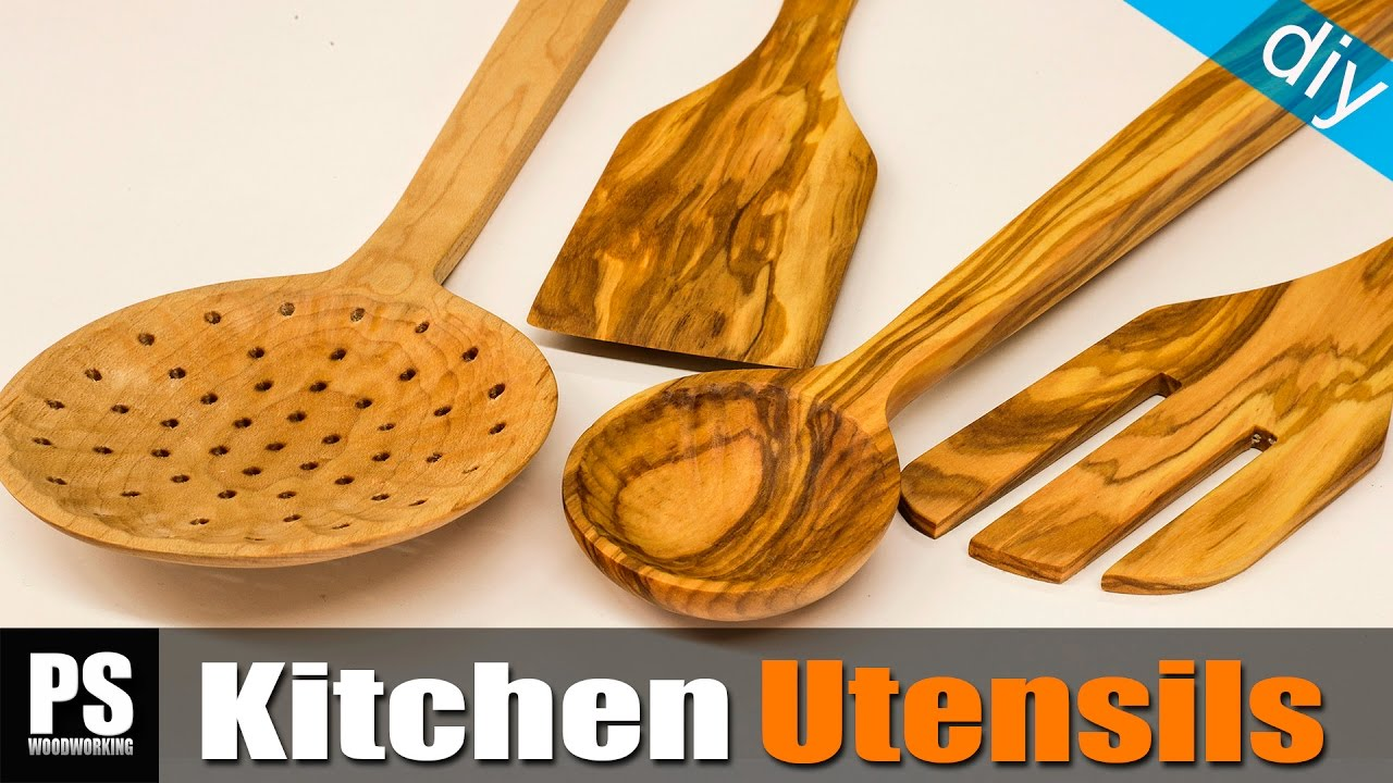 How To Make Kitchen Utensils (free Templates)