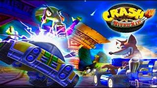 Crash Nitro Kart Video game on XBOX