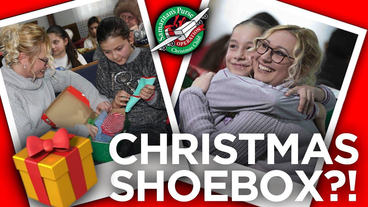 'I received a Christmas shoebox'