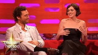 Anne Hathaway Will Not Shut Up About Magic Mike – The Graham Norton Show