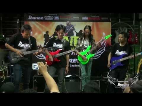 Flying With Ibanez 2014 Live Performance @Hari Hari Musik