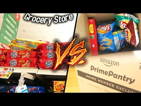 Amazon Pantry VS Grocery Store! (Who's Really Cheaper?)