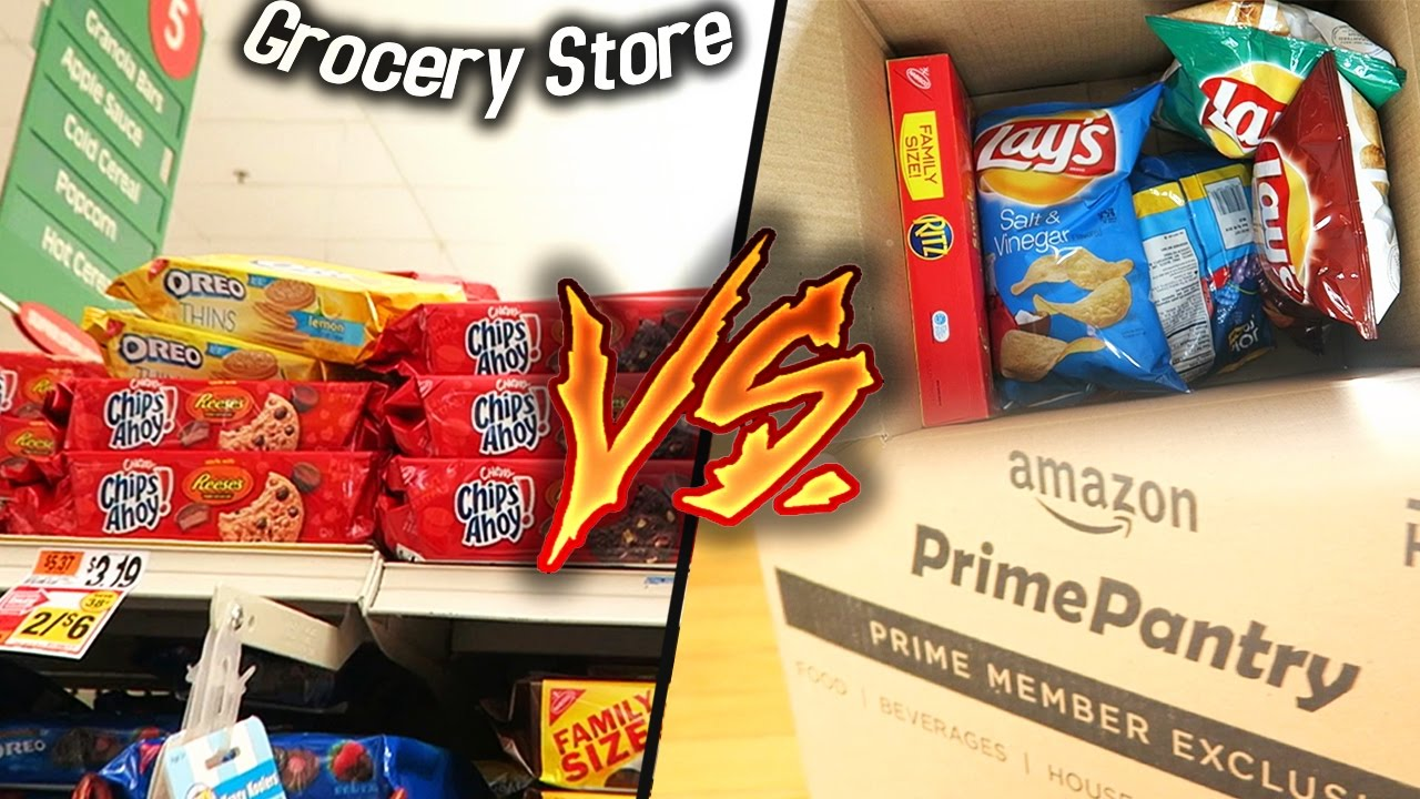 Amazon Grocery Amazon Pantry Vs Grocery Store Who S Really Cheaper