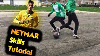 LEARN NEYMAR AMAZING FOOTBALL SOCCER/FUTSAL SKILLS | Ronaldo Neymar Messi Skills BY SFT