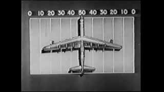 """""""Size 36""""  The first public movie film with details of the B-36 """"PEACEMAKER"""" nuclear bomber"""