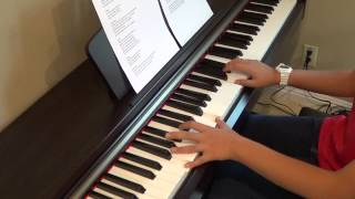 One Direction - Same Mistakes piano cover and lyrics by Betty Nguyen