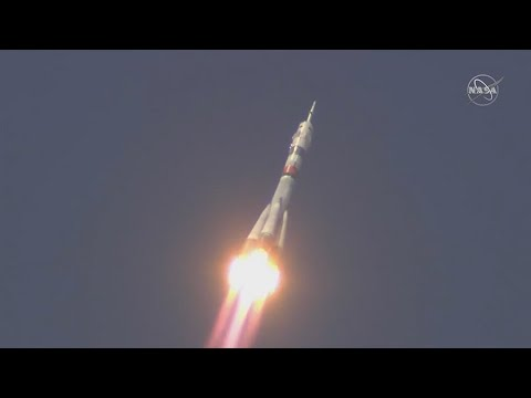 New Crew Reaches Orbit, Heads Toward - NASA Video