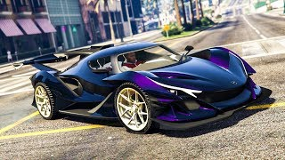 CRAZY RARE SUPER CAR STUNT! - (GTA 5 Mods & Stunts)