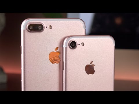 Apple iPhone 7 vs 7 Plus: Preview
