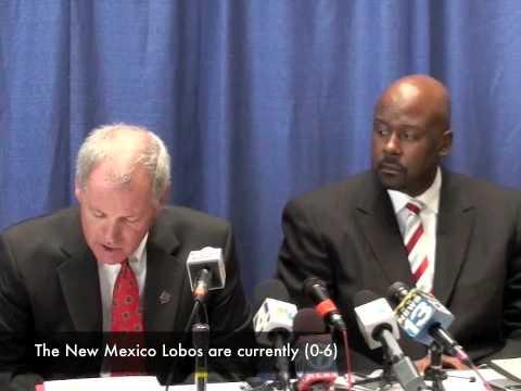 Loboland.com: Mike Locksley Get 10 Day Suspension