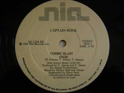 Captain Rock - Cosmic Blast (Dub) 1984