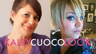 Kaley Cuoco Blue Twiggy Look | Jamie Greenberg Makeup Thumbnail