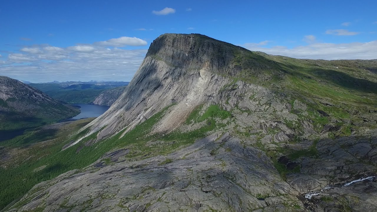 Mountains in Sørfold municipality