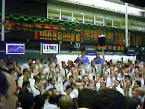 """1.Pregão Viva Voz - BM&FBovespa Stock Market in Brazil, trading floor """"In Memorian""""."""