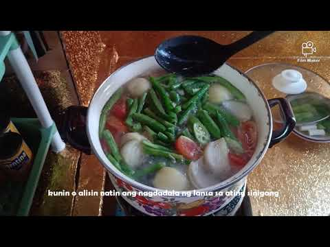 HOW TO MAKE A SINIGANG NA BANGUS ( CEBUANO STYLE ) /RAQUEL'S KITCHEN