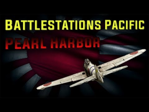 Battlestations: Pacific Japanese campaign Mission 1 Attack on Pearl Harbor
