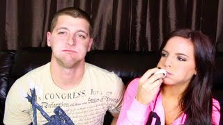 CHUBBY BUNNY CHALLENGE... FAIL- With Casey Holmes
