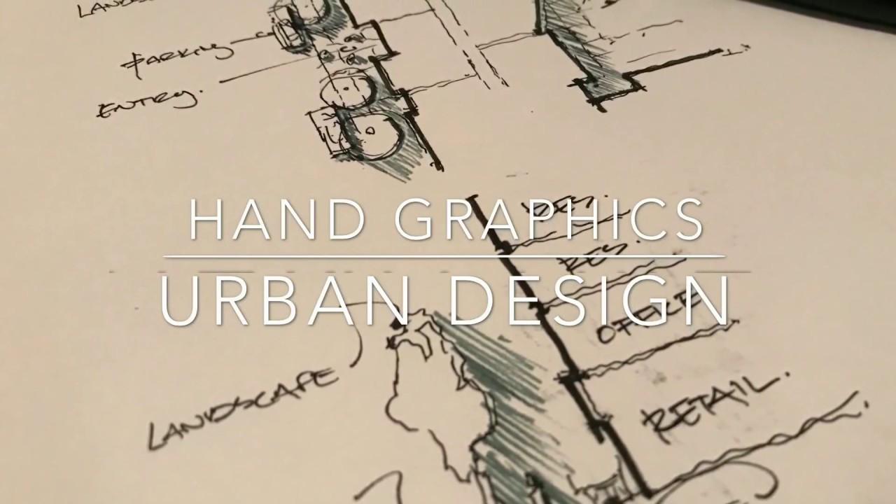 urban architecture drawing plan
