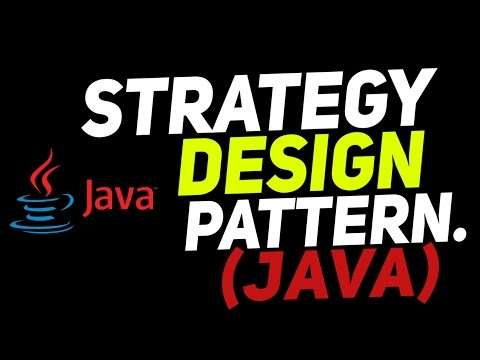 Strategy Design Pattern In Java explained in easiest way with example.