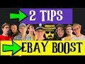 TWO Simple eBay TIPS for Having Sales ASAP on eBay