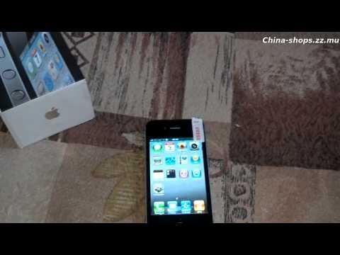 Обзор Китайского iphone 4