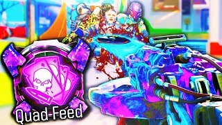 """QUAD FEED with EVERY """"DARK MATTER"""" WEAPON + DLC Guns! (Call of Duty: Black Ops 3)"""