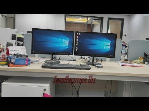 Tutorial Menggunakan Dual Monitor! [ Bahas Kelebihan & Kekurangan Dual Monitor ].