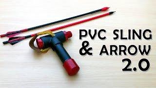 PVC Slingshot bow V 2.0 | What The Hack #18