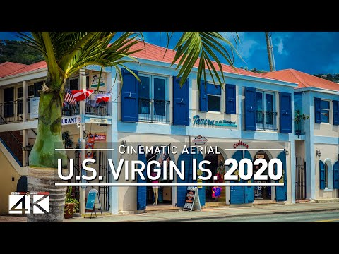 【4K】Drone Footage | U.S. Virgin Islands - Caribbeans Findest USVI 2019 | Cinematic Aerial St. Thomas