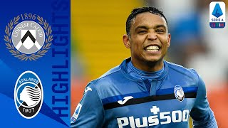 Udinese 1-1 Atalanta | Luis Muriel earns a point after early Udinese goal | Serie A TIM