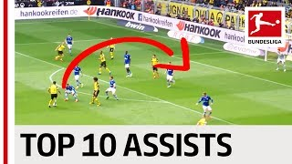 Top 10 Assists in 2018/19 - Pulisic, Jovic, Lewandowski & More