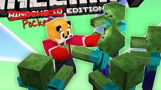 Minecraft | BOXING ZOMBIES | Foxy's Bedrock Survival [18]