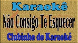Reginaldo Rossi  Não Consigo Te Esquecer Karaoke