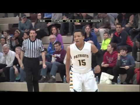 Stevenson High School Boys Basketball vs Lake Forest (1/17/2014)