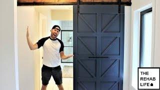 The $80 Chevron Barn Door - Easy DIY Project