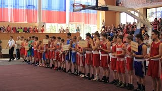 Открытие первенства России по боксу среди юношей 13-14 лет