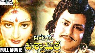 Brahmarshi Viswamitra Telugu Full Movie || NTR, Balakrishna