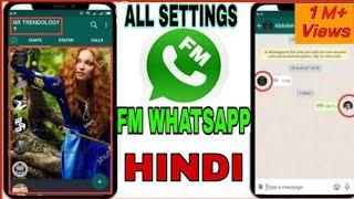 Gambar cover FM WhatsApp Features in Hindi 2018  WhatsApp home screen par अपना photo कैसे लगाए   Fm Whatsapp