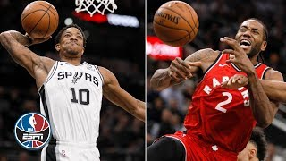 Kawhi Leonard's return to San Antonio spoiled by DeMar DeRozan's triple-double | NBA Highlights
