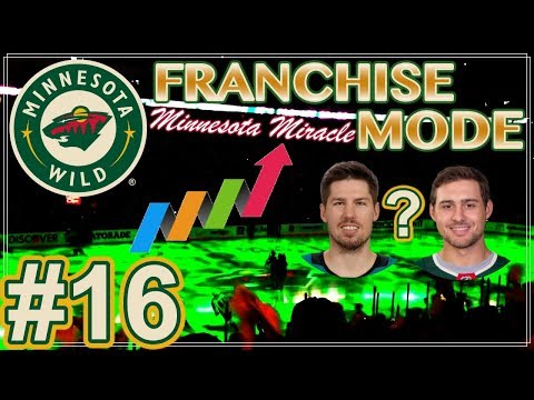 "NHL 18 Minnesota Wild Franchise Mode #16 ""Growth & Trade Talks"""