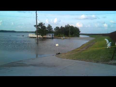 Morgan City Louisiana flood 2011 part 2