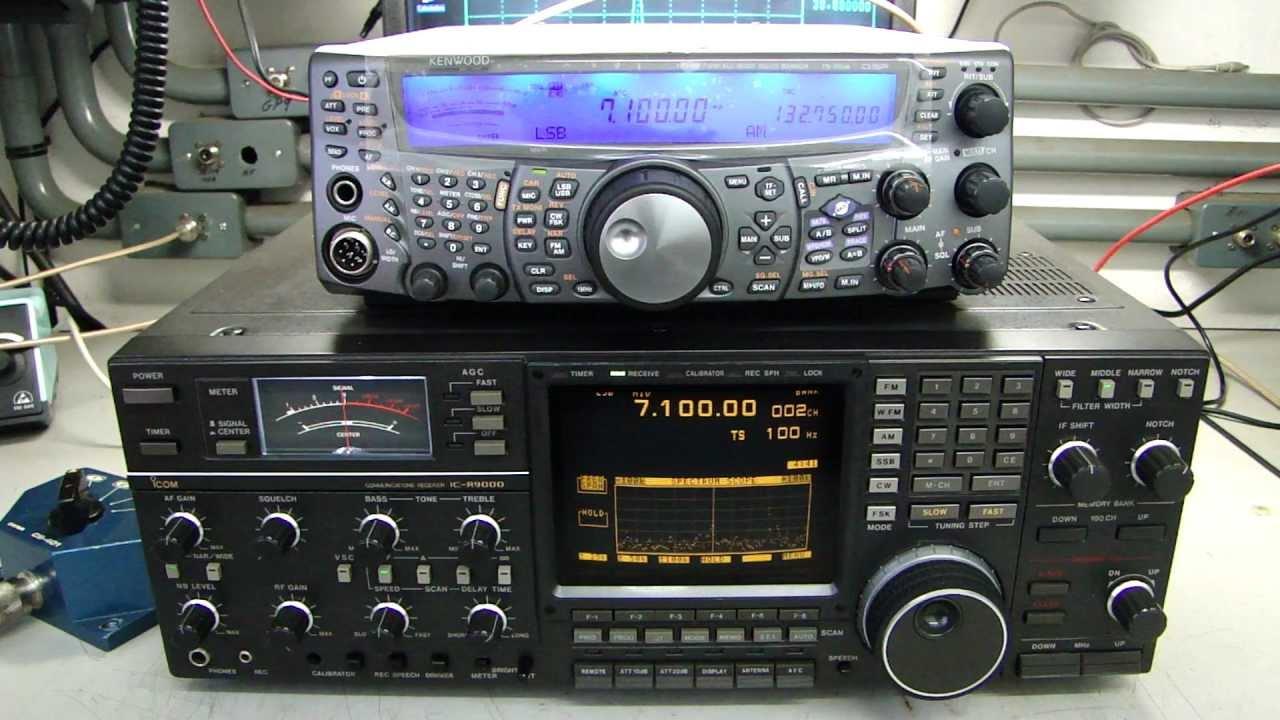 RX TEST KENWOOD TS-2000 X ICOM IC-R9000 - ALPHA TELECOM
