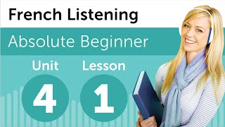 French Listening Comprehension - Finding What You Want at a Department Store in France