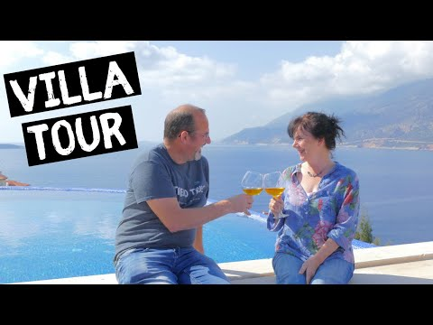 We swapped VAN LIFE for a LUXURY Villa in Kas Turkey