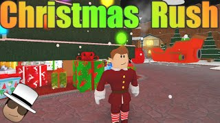 [ROBLOX: Christmas Rush] - Lets Play Ep 1 - Broken Cannon Minigame!