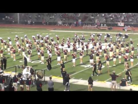 9/6/2013 James Martin HS Matching Band